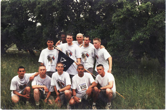 The Washington Post is running stories on the military's bulging bellies. I looked through my old Army photos and found one of my fellow infantrymen after a 10 mile run. Nope. No fat people there. I wonder why.