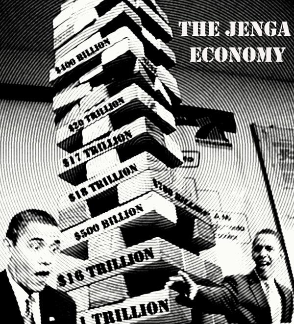Obama Jenga Economy