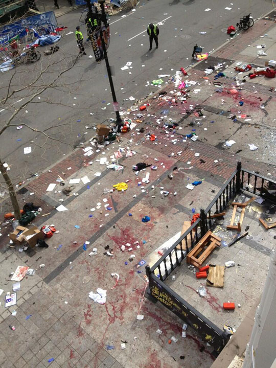 "The aftermath of the April 15 terror attack in Boston, perpetrated by jihadists — not ""knock-off"" jihadists."