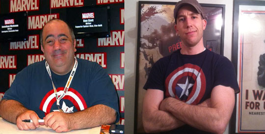 Dan Slott Captain America shirt
