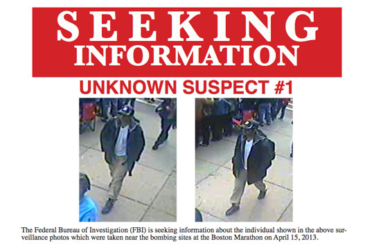 FBI Boston Marathon Suspect 1