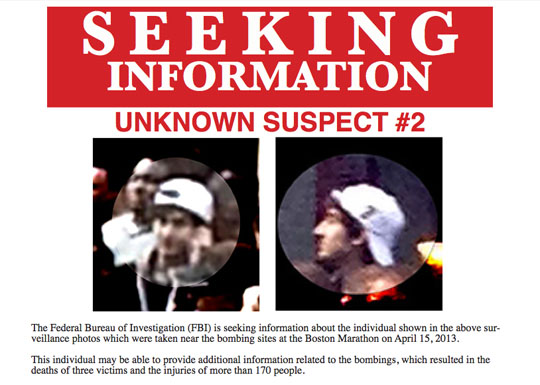 FBI Boston Maraton Suspect 2