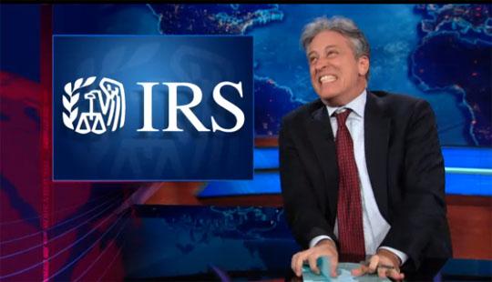 Jon Stewart IRS scandal