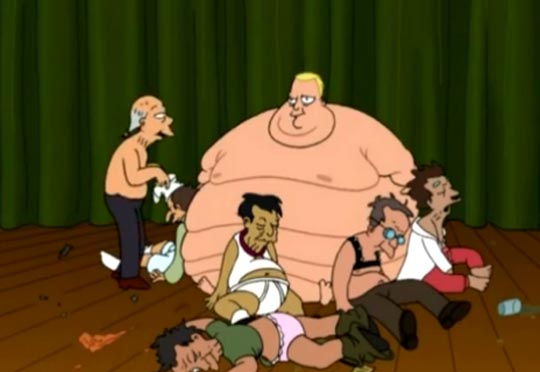 If you look like fat Bender from Futurama, it's not your fault. You have a disease. The AMA came off the mountain and declared it.