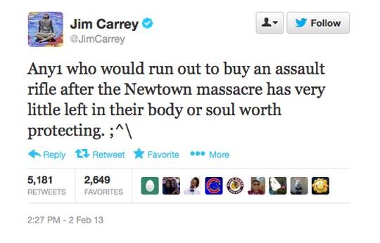 Jim Carrey Newtown