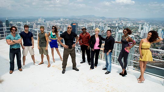 The Hero The Rock TNT cast