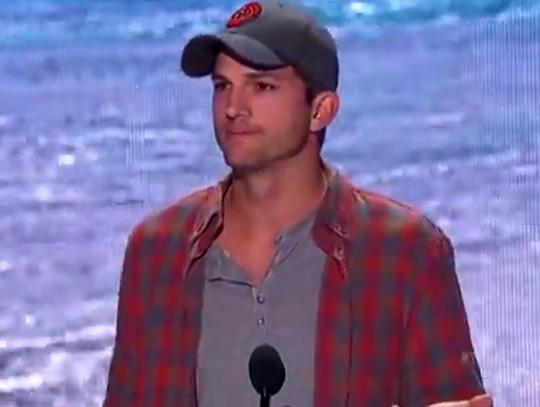 Ashton Kutcher Teen Choice Awards