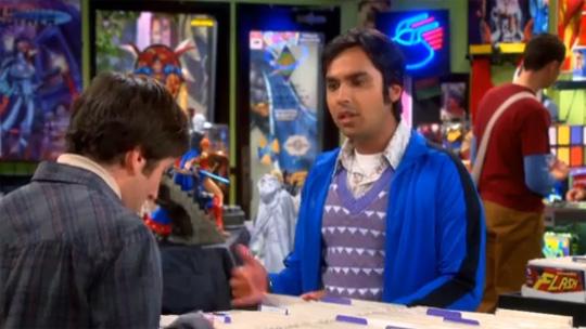 Big Bang Theory Superior Spider-Man