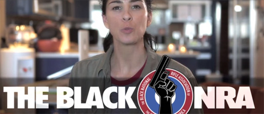 Sarah Silverman Black NRA