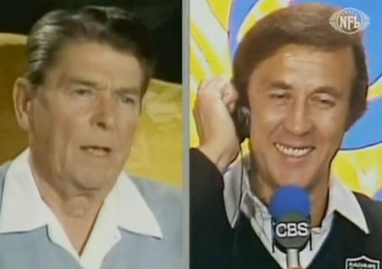 Coach Tom Flores, I have already had a call from Moscow. They think that Marcus Allen is a new secret weapon and they insist we dismantle it.