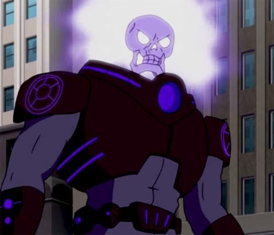The Atomic Skull Superman The Elite