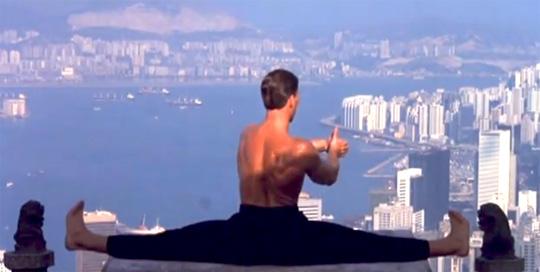 Van Damme splits