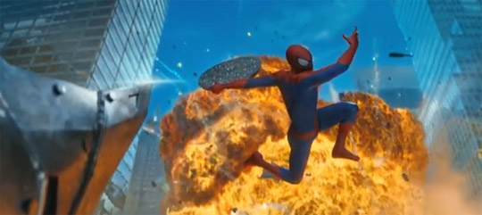 Amazing Spider Man 2 Rhino fight