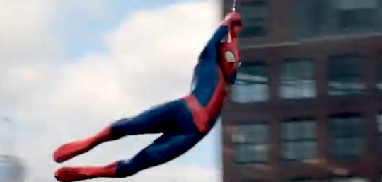 Amazing Spider Man 2 web swing