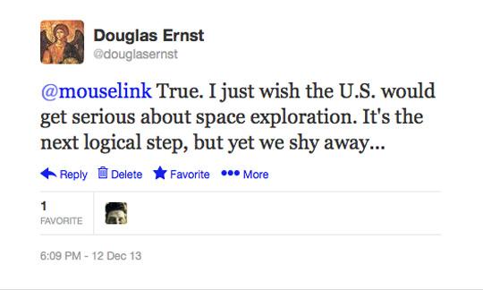 Douglas Ernst Twitter space