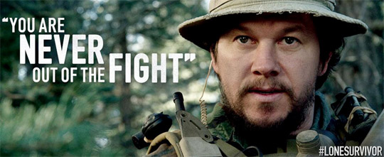 Lone survivor never never never give up