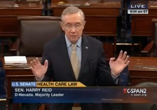 Harry Reid Obamcare horror stories