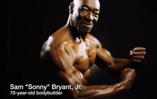At 70 Bodybuilder Sam Sonny Bryant Jr Stays Young