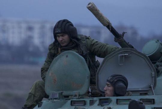 Ukraine Russia armor