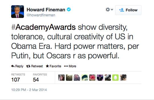 Howard Fineman Oscars