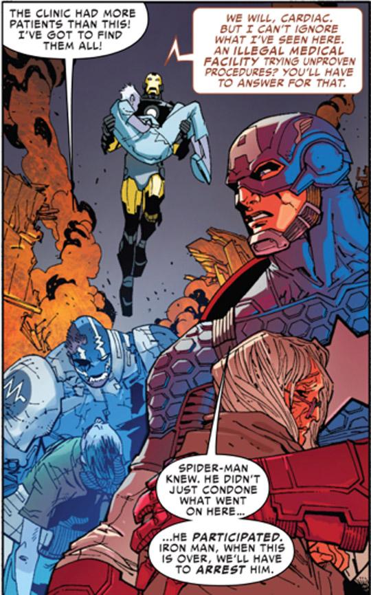 Captain America Superior SpiderMan
