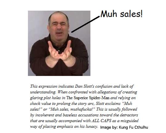 Dan Slott Sales Meme