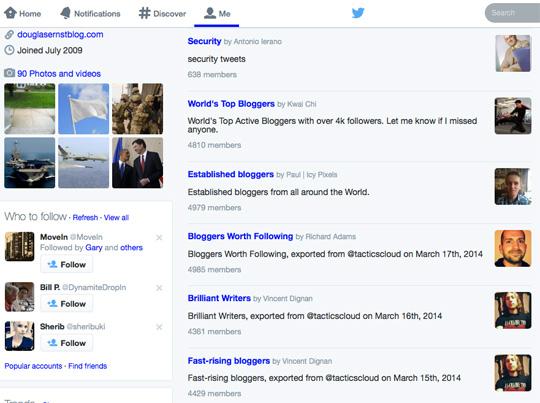 douglasernstblog Twitter lists