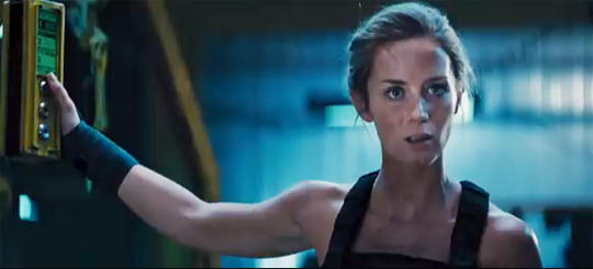 Edge of Tomorrow Rita Emily Blunt