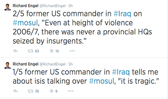 Richard Engel Twitter Iraq