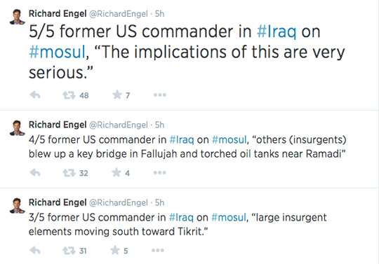 Richard Engel Twitter Iraq2