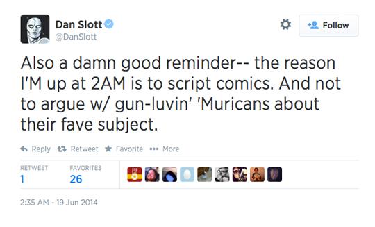 Dan Slott guns