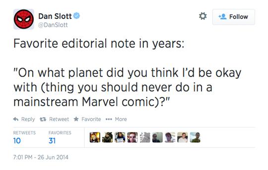 Dan Slott Marvel