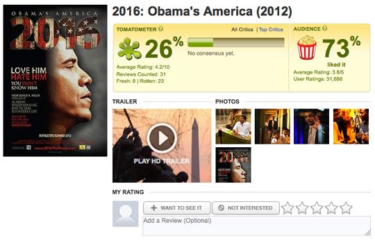 Obama America 2016 DSouza