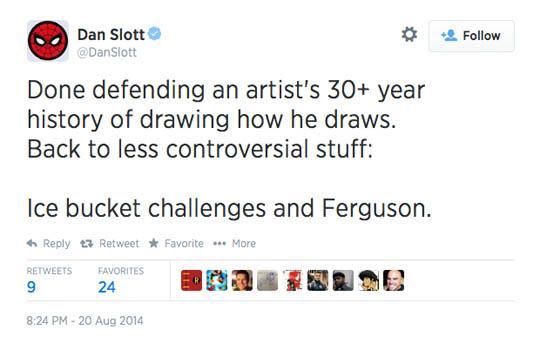 Dan Slott Ferguson