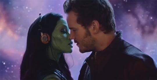 Guardians of the Galaxy Gamora Peter