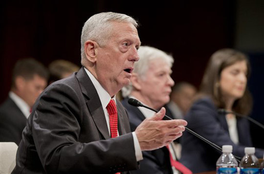 James Mattis, Ryan Crocker, Dafna Rand