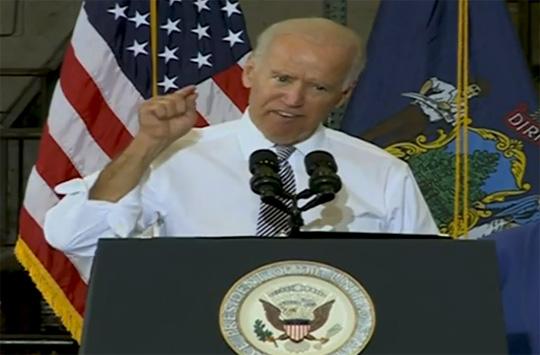 Joe Biden Gates of Hell Islamic State