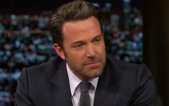 Ben Affleck angry nostril sniff
