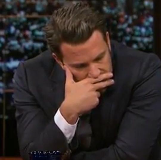 Ben Affleck finger face Bill Maher