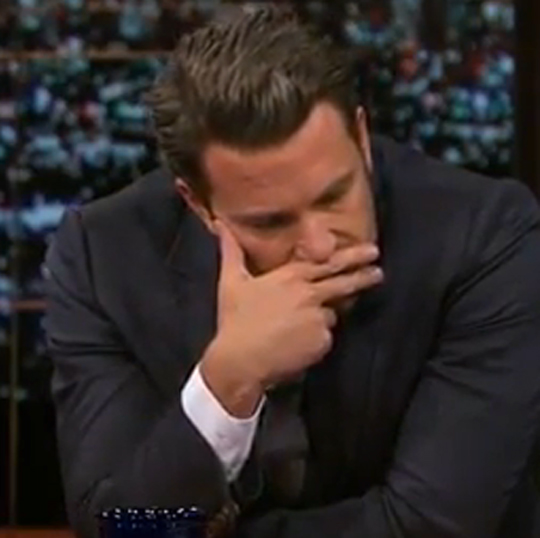 Ben Affleck finger face Bill Maher