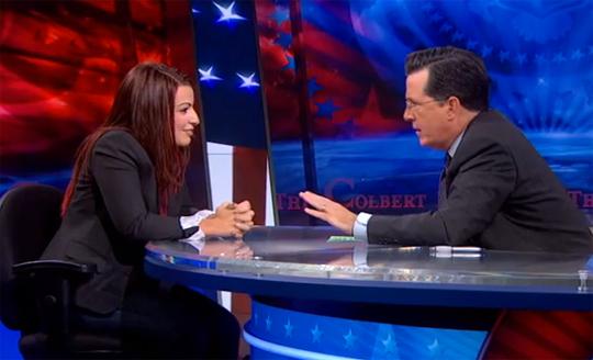 Colbert Anita Sarkeesian