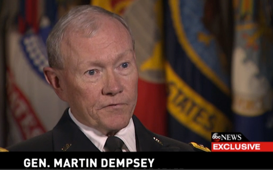 Martin Dempsey ABC screenshot