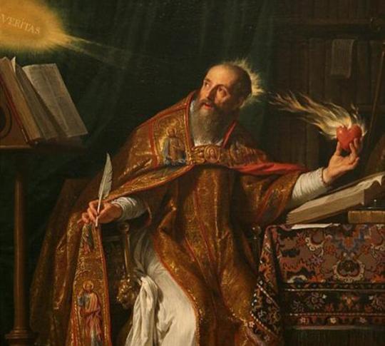 Saint_Augustine Philippe de Champaigne
