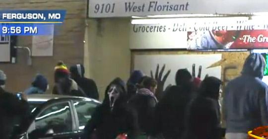 Ferguson Scream Mask