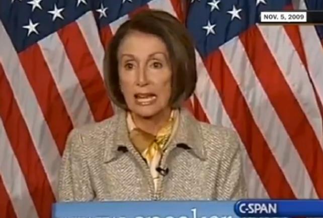 Nancy Pelosi Jonathan Gruber Obamacare