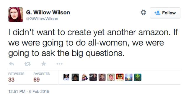 G Willow Wilson Twitter