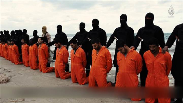 Islamic State Christians beheaded