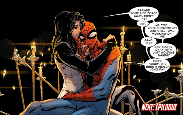 Silk SpiderMan SpiderVerse