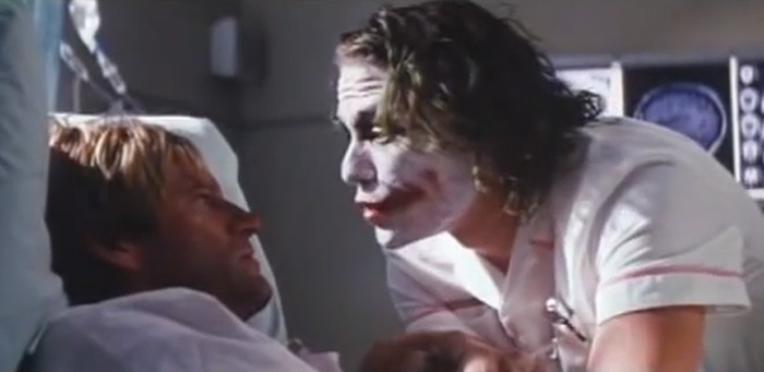 The Dark Knight Joker Hospital
