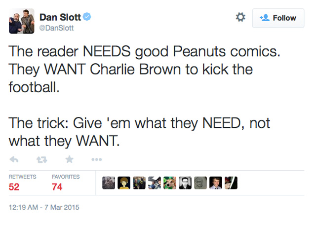 Dan Slott Charlie Brown